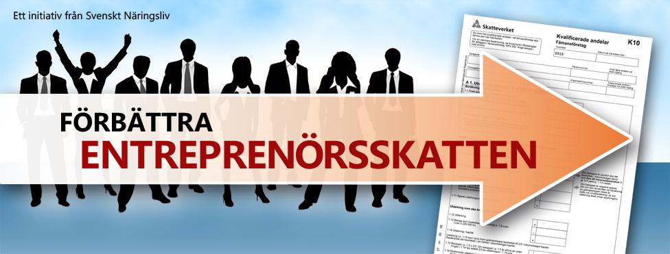 Förbättra Entreprenörsskatten
